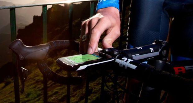 Léxico cuentakilómetros GPS de bicicleta